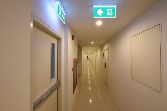 installation éclairage de sécurité